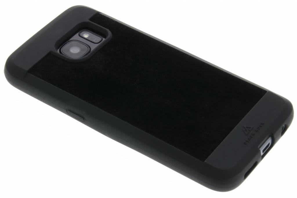 Black Rock Suede Case voor de Samsung Galaxy S7 - Zwart