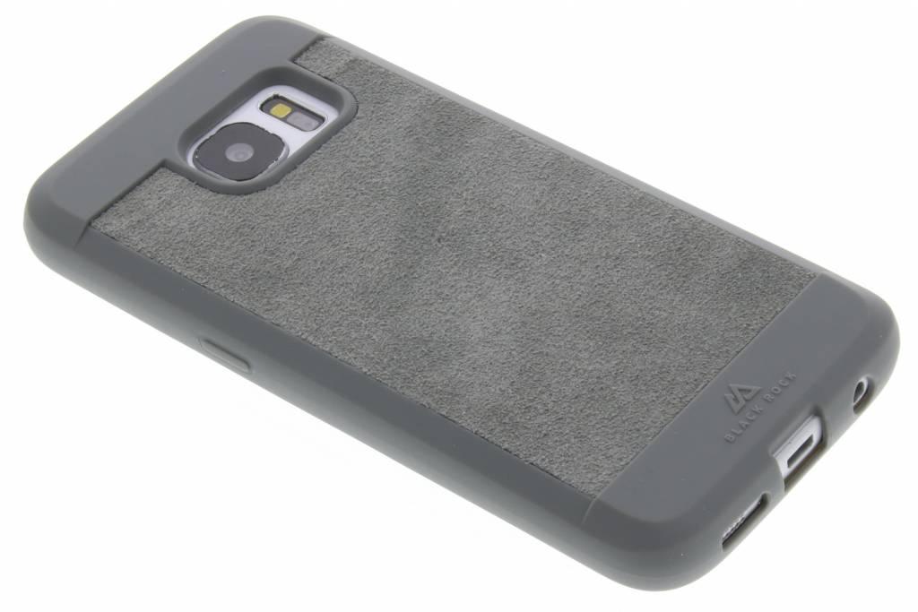 Black Rock Grijze Suede Case voor de Samsung Galaxy S7