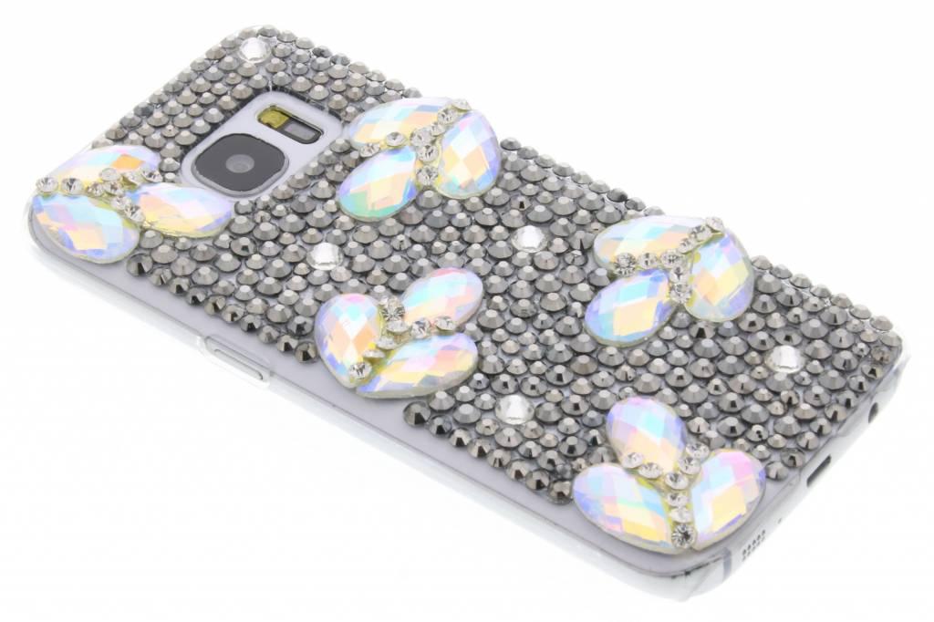Glazen strass hardcase hoesje voor de Samsung Galaxy S7