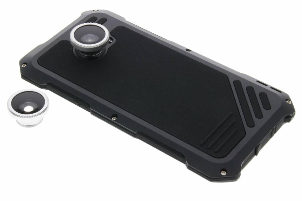 Lentille Noire Pour Protéger Boîtier Métallique De La Coque Pour Samsung Galaxy S7 G5sZE