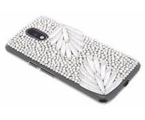Glazen strass hardcase hoesje Motorola Moto G4 (Plus)