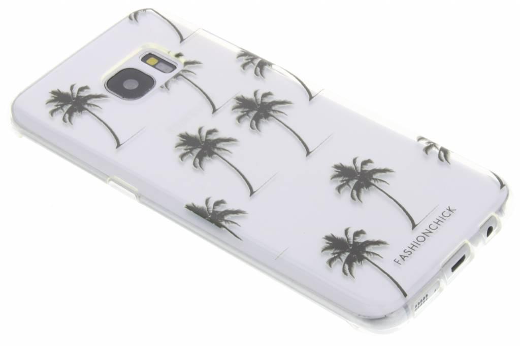 Fashionchick Palmtrees Softcase voor de Samsung Galaxy S7 Edge