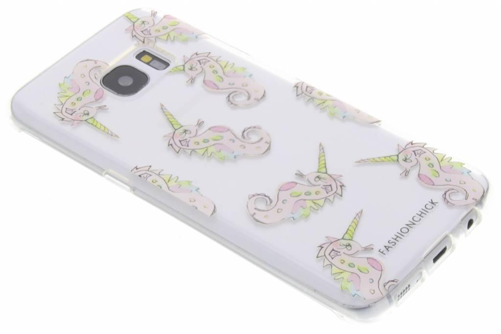 Fashionchick Unihorse Softcase voor de Samsung Galaxy S7 Edge