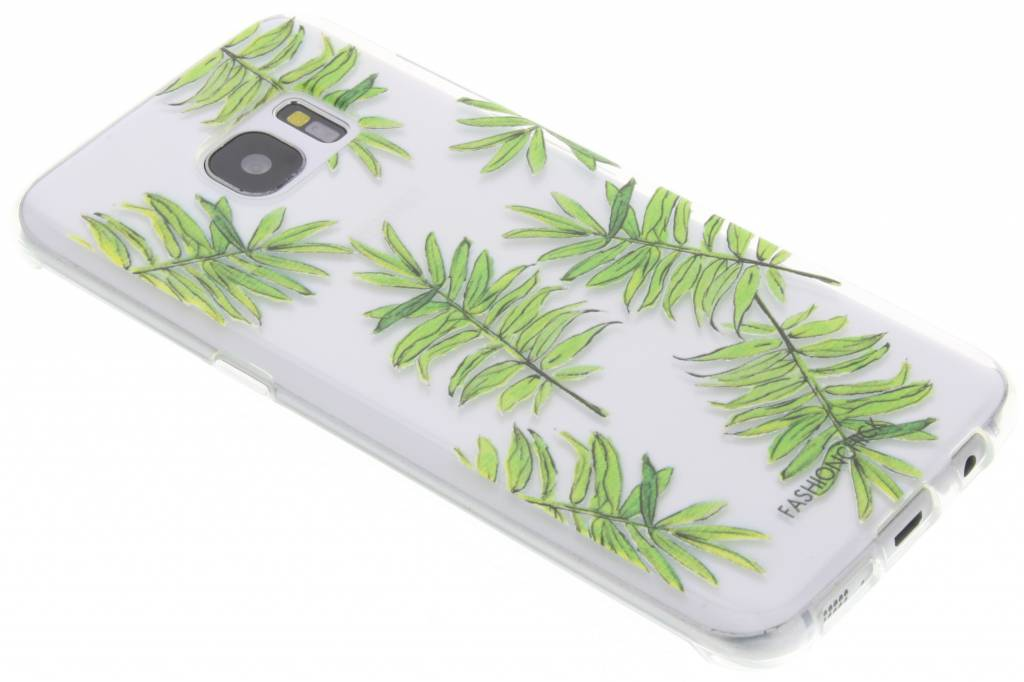 Fashionchick Leaves Softcase voor de Samsung Galaxy S7 Edge