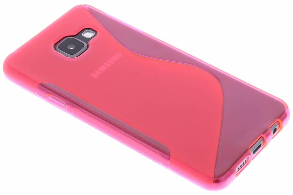 Rosé S-line TPU hoesje voor de Samsung Galaxy A3 (2016)