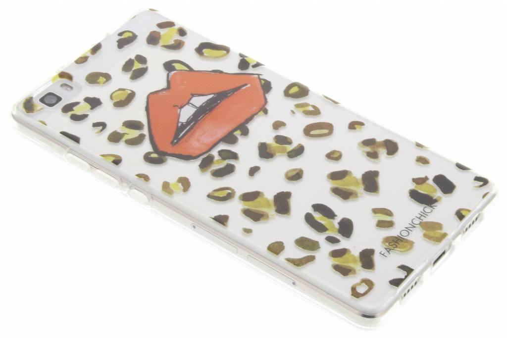 Fashionchick Leopard Softcase voor de Huawei P8 Lite