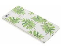 Fashionchick Leaves Softcase Huawei P8 Lite