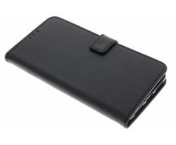 Zwart luxe leder booktype Huawei Mate 9