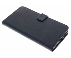 Donkerblauw luxe leder booktype Huawei Mate 9