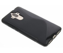 Zwart S-line TPU hoesje Huawei Mate 9