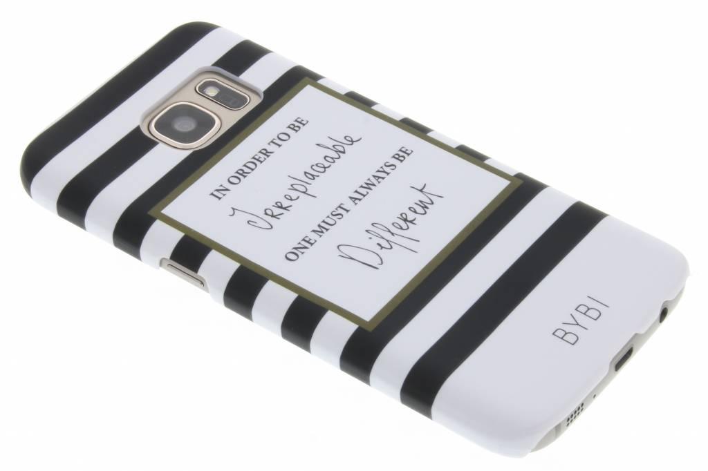 Image of In order to be irreplaceable hardcase voor de Samsung Galaxy S7