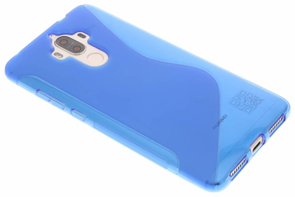 Blauw S-line TPU hoesje voor de Huawei Mate 9