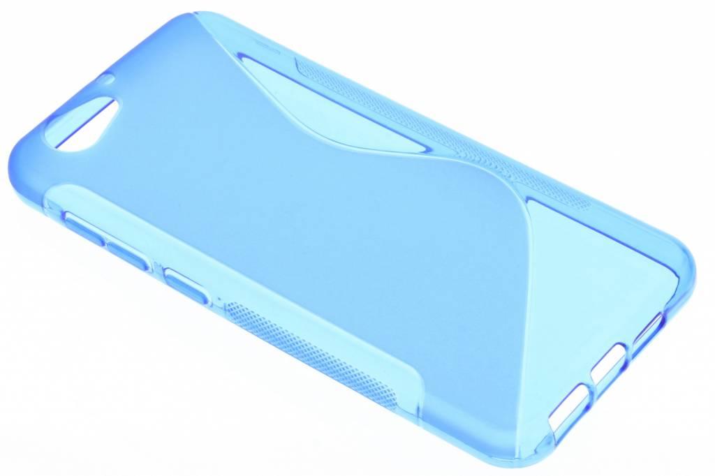 Blauw S-line TPU hoesje voor de HTC One A9s
