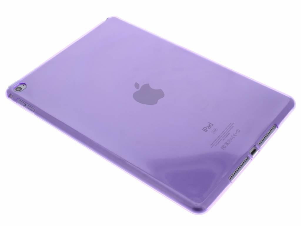 Paarse transparante gel case voor de iPad Air 2