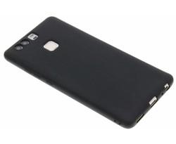 Zwart Color TPU hoesje Huawei P9