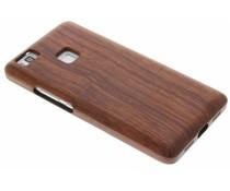 Echt houten hardcase hoesje Huawei P9 Lite