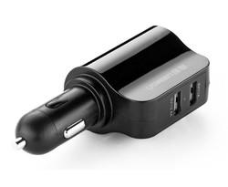 Ugreen Dual USB Car Charger met Lighter Socket 3,4 A - Zwart