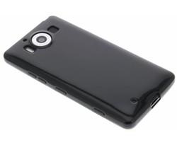 Zwart gel case Microsoft Lumia 950