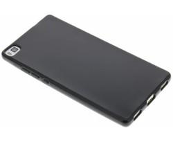 Zwart gel case Huawei P8