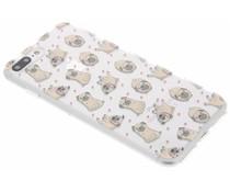 Pug LoveTPU hoesje iPhone 8 Plus / 7 Plus