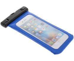 Blauw universele waterproof case maat M