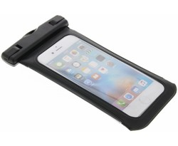 Zwart universele waterproof case maat L