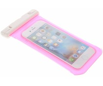 Roze universele waterproof case maat L