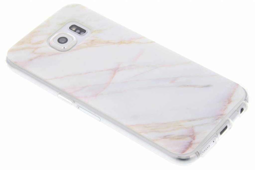 Marmer designTPU hoesje voor de Samsung Galaxy S6