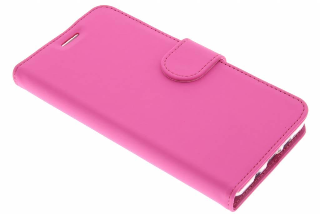 Accezz Wallet TPU Booklet voor de Samsung Galaxy A5 (2016) - Roze