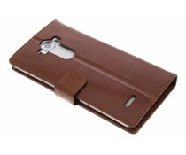 Valenta Booklet Classic Luxe LG G4 - Bruin