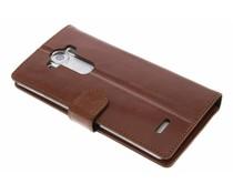 Valenta Booklet Classic Luxe LG G4 - Bruin