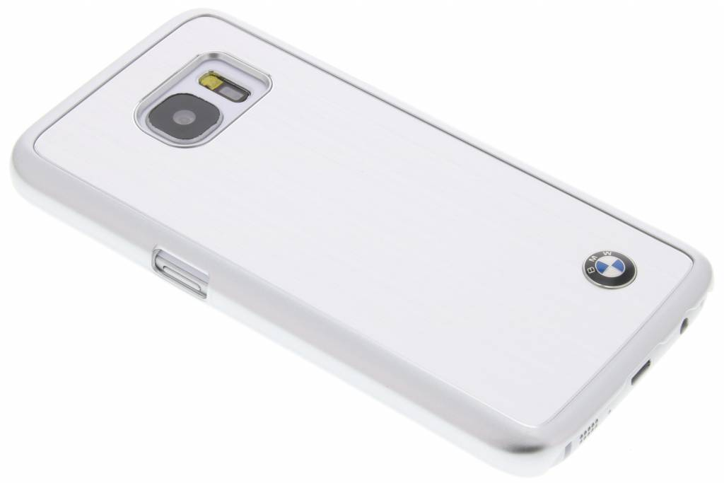 BMW Brushed Aluminium Hard Case voor de Samsung Galaxy S7 - Zilver