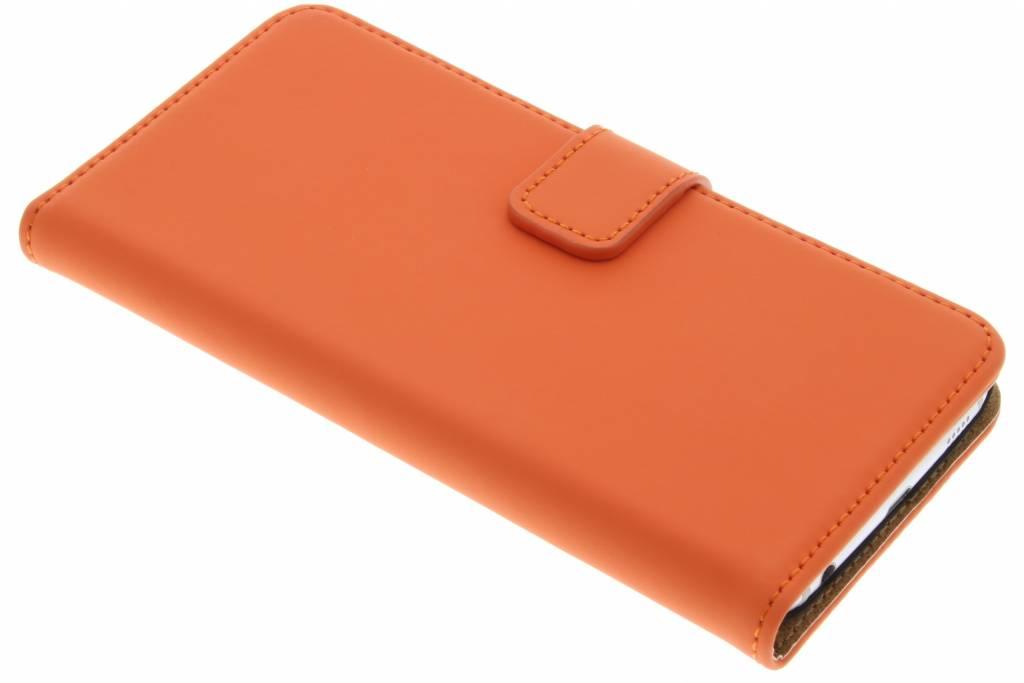 Luxe Book Case voor de Samsung Galaxy S6 - Oranje