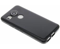 Zwart gel case LG Nexus 5X