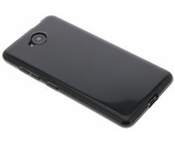 Zwart gel case Microsoft Lumia 650