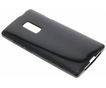Zwart gel case OnePlus 2