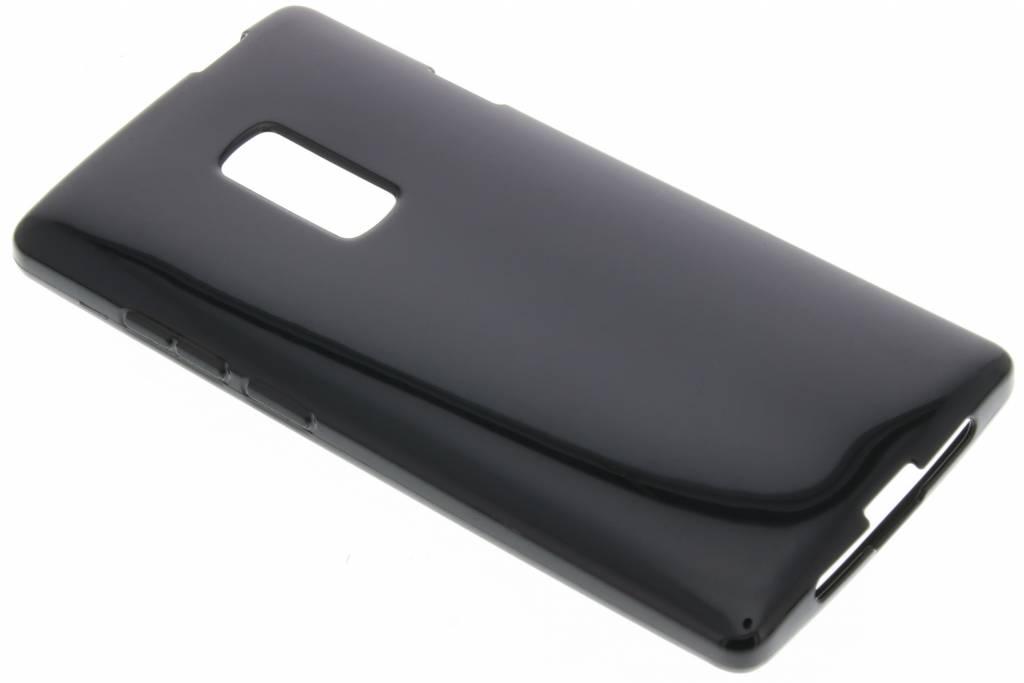 Zwarte gel case voor de OnePlus 2