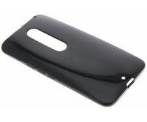 Zwart gel case Motorola Moto X Style