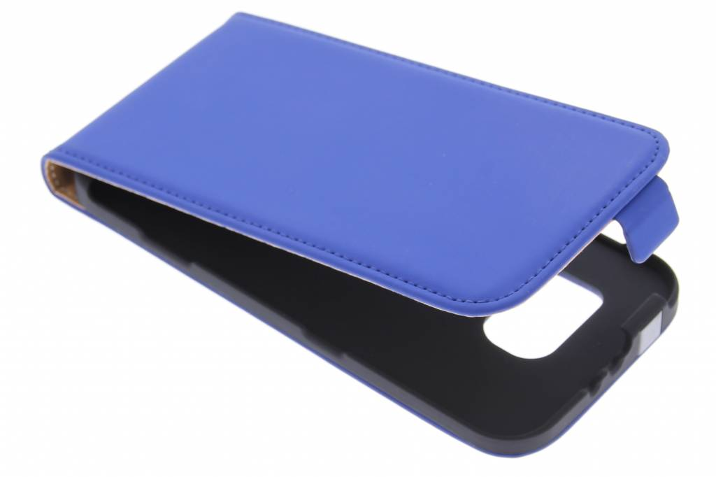 Mobiparts Premium flipcase voor de Samsung Galaxy S6 - Blue