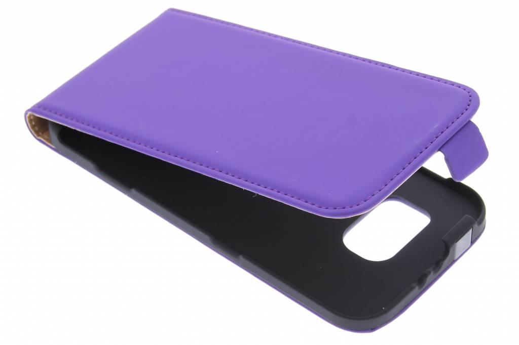 Mobiparts Premium flipcase voor de Samsung Galaxy S6 - Purple