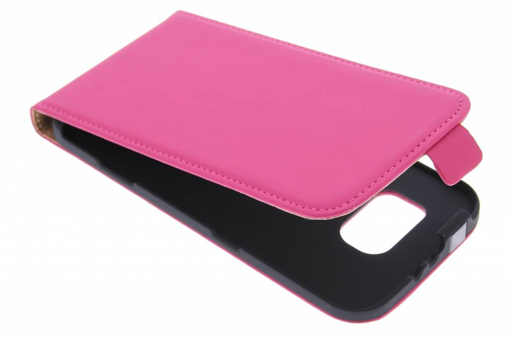 Premium flipcase voor de Samsung Galaxy S6 - Pink