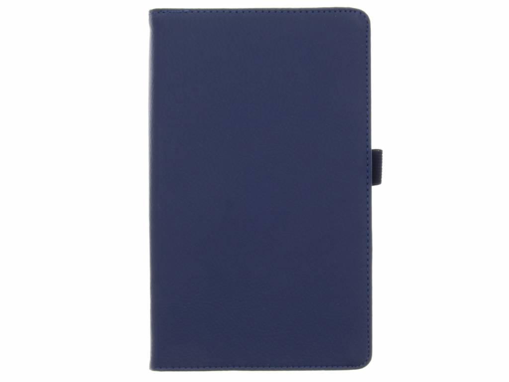 Blauwe effen tablethoes voor de Lenovo Tab 3 Essential