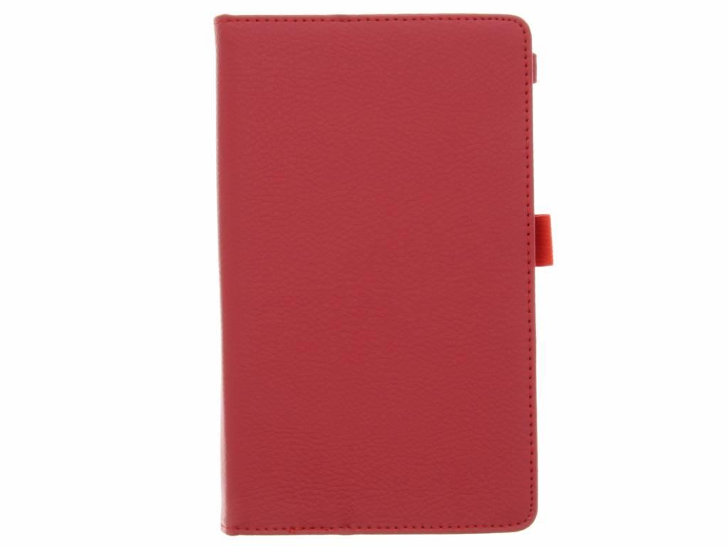 Rode effen tablethoes voor de Lenovo Tab 3 Essential