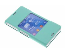 Sony Style Cover Window Xperia Z3 Compact - Mintgroen