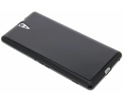 Zwart gel case Sony Xperia C5 Ultra