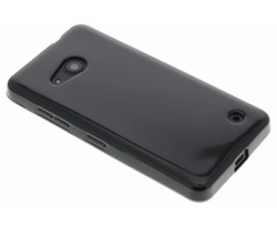 Zwart gel case Microsoft Lumia 550