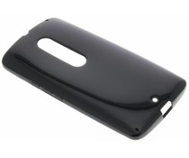 Zwart gel case Motorola Moto X Play