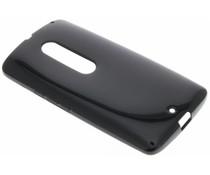 Zwart gel case Motorola Moto X Play