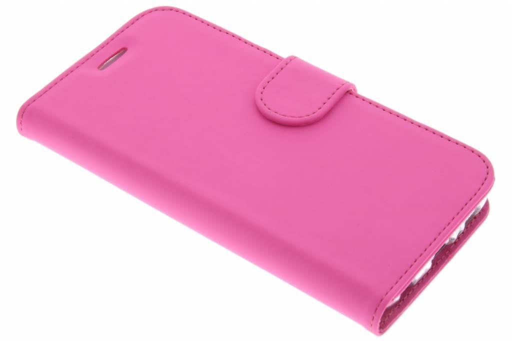 Wallet TPU Booklet voor de Samsung Galaxy S6 - Roze