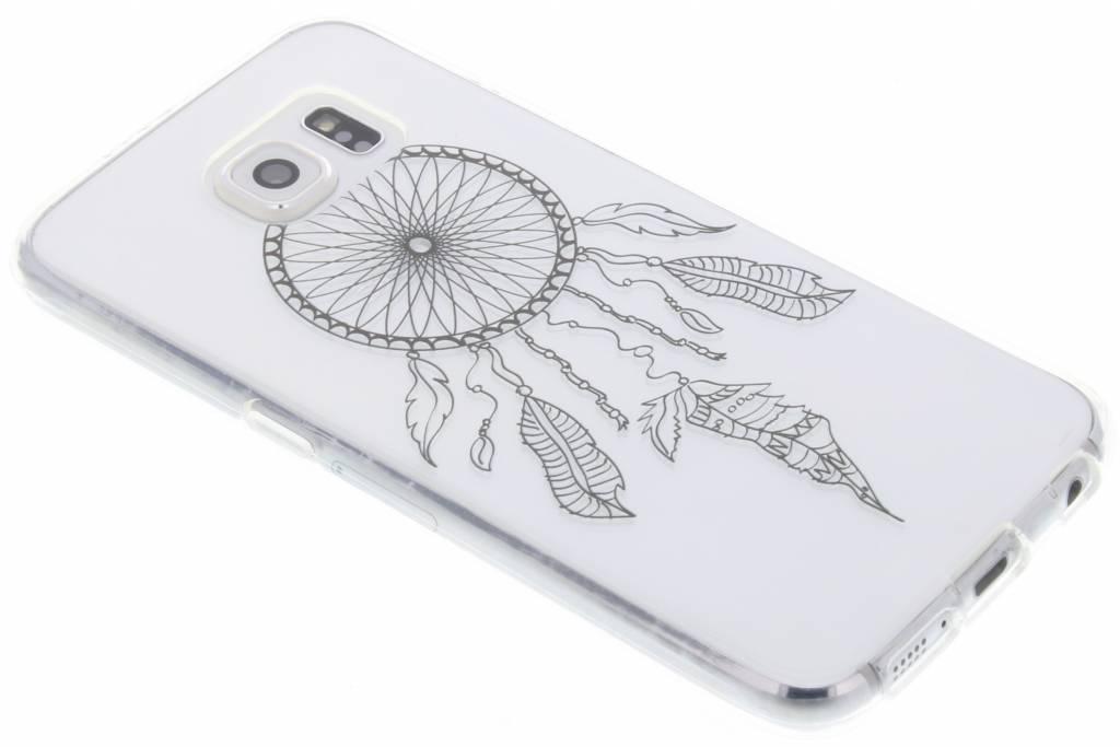 Zwart dromenvanger design TPU hoesje voor de Samsung Galaxy S6